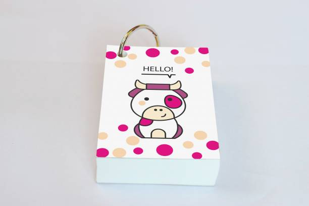 Baron My Cute Friends Mini Note Pad Unruled 200 Pages
