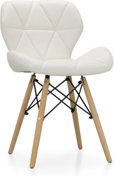 Finch Fox Eames Replica Faux Leather Dining Chair/Cafe Chair/Side Chair/Accent Chair Leatherette Dining Chair
