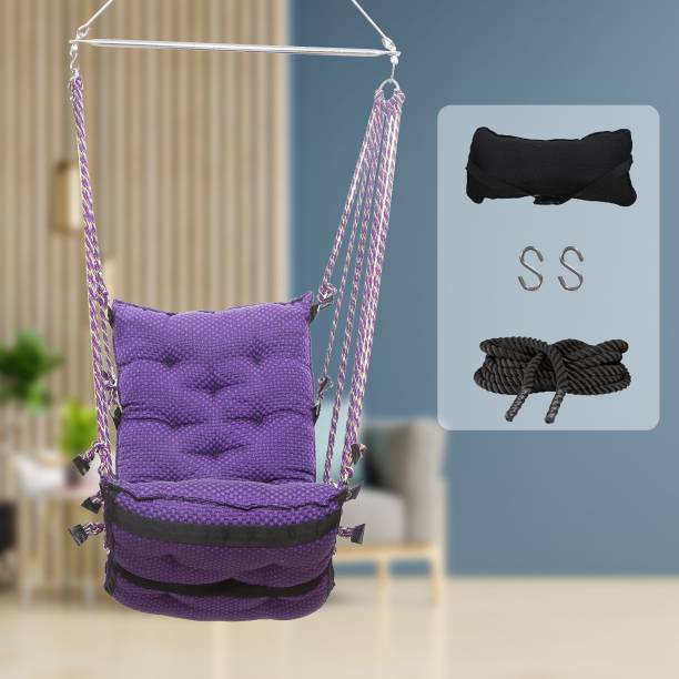 Smart Beans Jhoola, Swing chair for Home balcony Cotton Large Swing