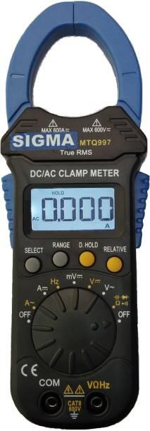 SIGMA 997 TRMS AC DC Clamp Meter 600A AC DC Digital Multimeter