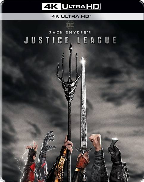 Zack Snyder's Justice League (Steelbook) (4K UHD) (2-Disc)