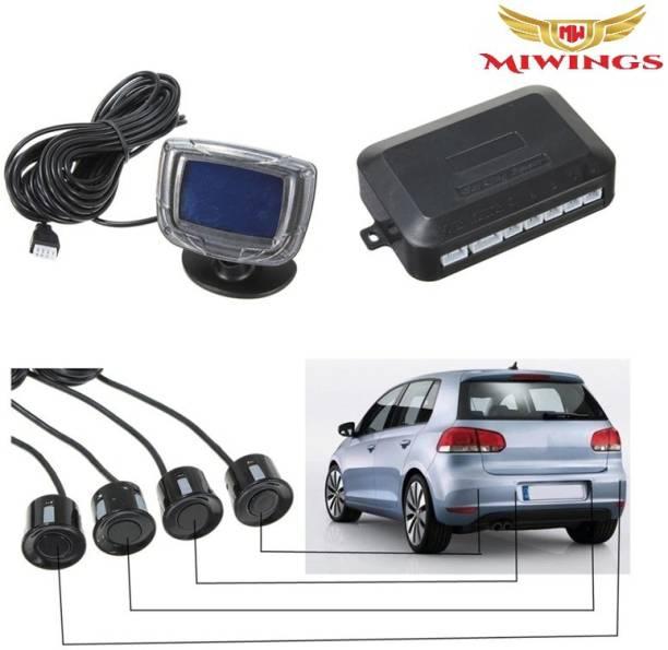 Miwings cx643 Vehicle Parking Sensor LCD Display with Switch Car Reverse Radar Parking Distance Rear 4 Sensors Backup Alarm System Parking Sensor