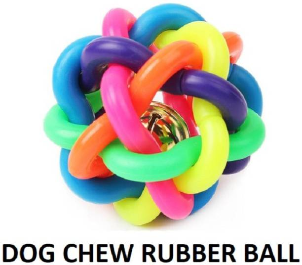 Hachiko Best Quality Pet Rubber Chew Toys (Ball Toy) Pet Playing ,Exercise Rubber Fetch Toy Rubber Ball, Chew Toy For Dog