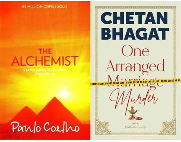 The Alchemist + One Arranged Marriage Murder (Set Of 2 Books) (Paperback, Paulo Coelho, Bhagat Chetan)