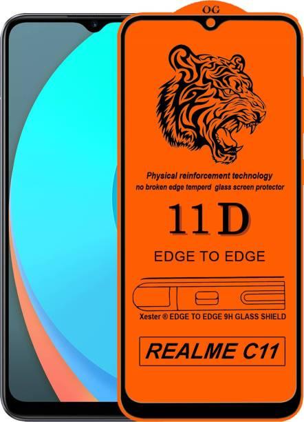 Rofix star Edge To Edge Tempered Glass for Realme C11
