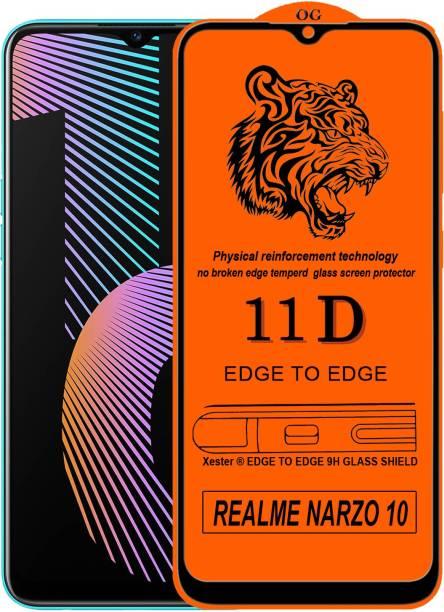 Rofix star Edge To Edge Tempered Glass for Realme Narzo 10