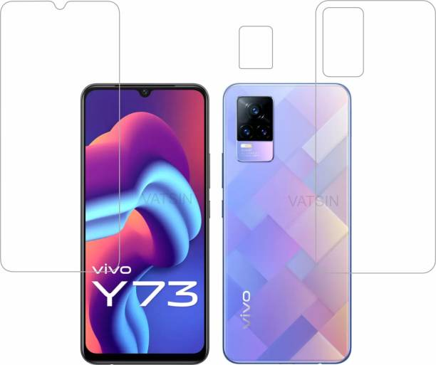 Vatsin Front and Back Screen Guard for ViVO Y73