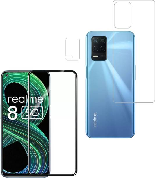 Vatsin Front and Back Tempered Glass for Realme 8 5G