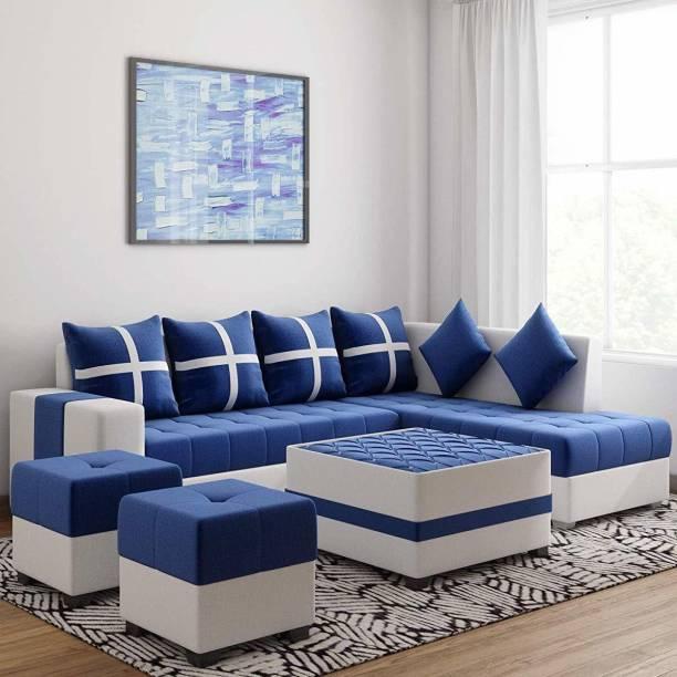 lifestyle furniture Leatherette 8 Seater  Sofa
