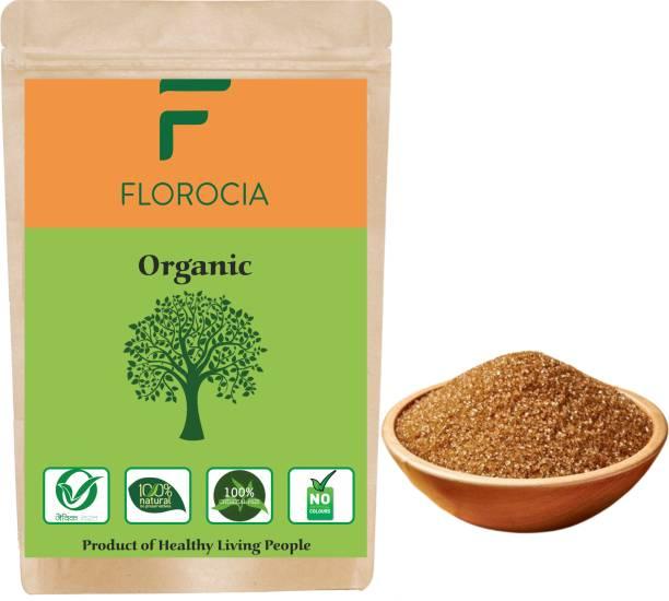 Florocia Organic Brown Sugar 1kg , Mineral Rich , Raw , Luscious Sugar -500 Gram Sugar