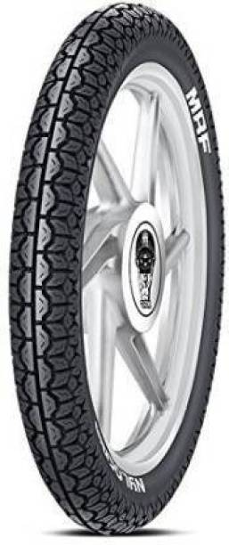 MRF Nylogrip PLUS 3.00-18 52P TUBELESS bike Rear Tyre 3.00-18 52P Rear Tyre
