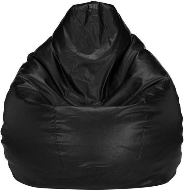 Easyhome Large Tear Drop Bean Bag Cover  (Without Beans)