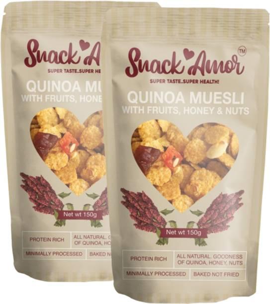 Snack Amor Quinoa Muesli Pack of 2