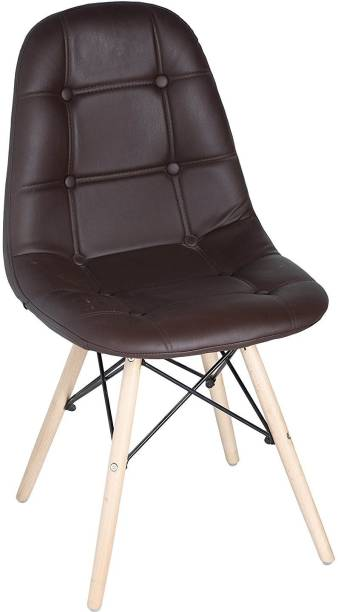 Finch Fox Eames Replica Cushioned Dining Chair / Cafe Chair / Side Chair / Accent Chair Engineered Wood Dining Chair