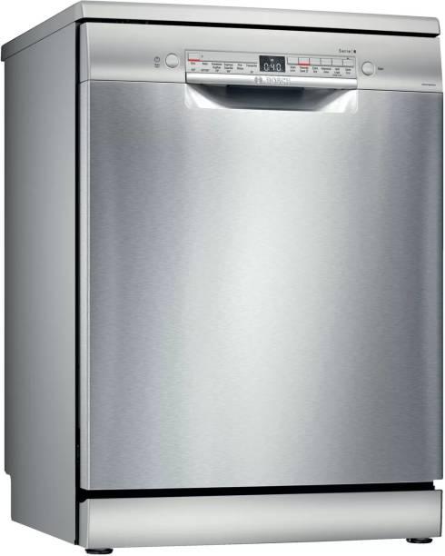 BOSCH SMS6ITI01I Free Standing 13 Place Settings Dishwasher