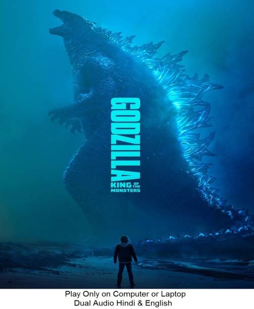 Godzilla : King of The Monsters 2019 in Hindi & English it's DURN DATA DVD play only in computer or laptop it's not original without poster HD print quality
