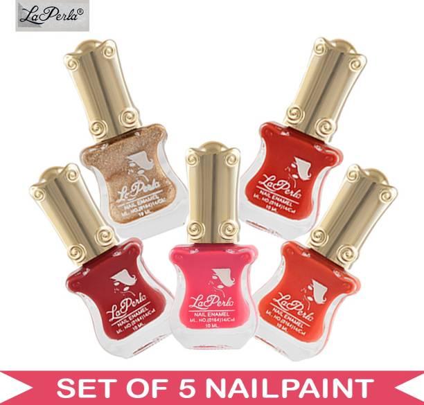 La Perla (LP-NPCMB5-6344) - CH Piano Multicolor Nail Paint - 10 ml Each Multicolor