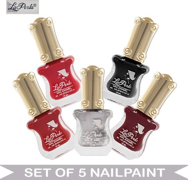 La Perla (LP-NPCMB5-6439) - CH Piano Multicolor Nail Paint - 10 ml Each Multicolor