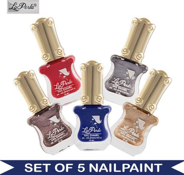 La Perla (LP-NPCMB5-6170) - CH Piano Multicolor Nail Paint - 10 ml Each Multicolor