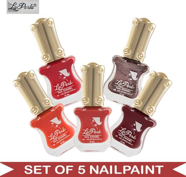 La Perla (LP-NPCMB5-6109) - CH Piano Multicolor Nail Paint - 10 ml Each Multicolor