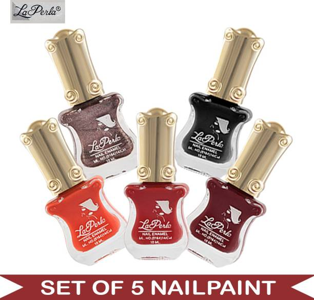 La Perla (LP-NPCMB5-6484) - CH Piano Multicolor Nail Paint - 10 ml Each Multicolor