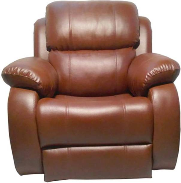 RM HOME Leatherette Manual Recliner