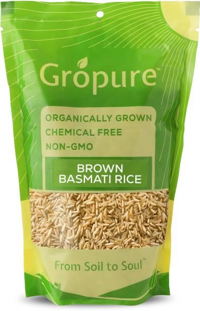 Gropure Organic Brown Rice Brown Long Grain Rice (Long Grain)
