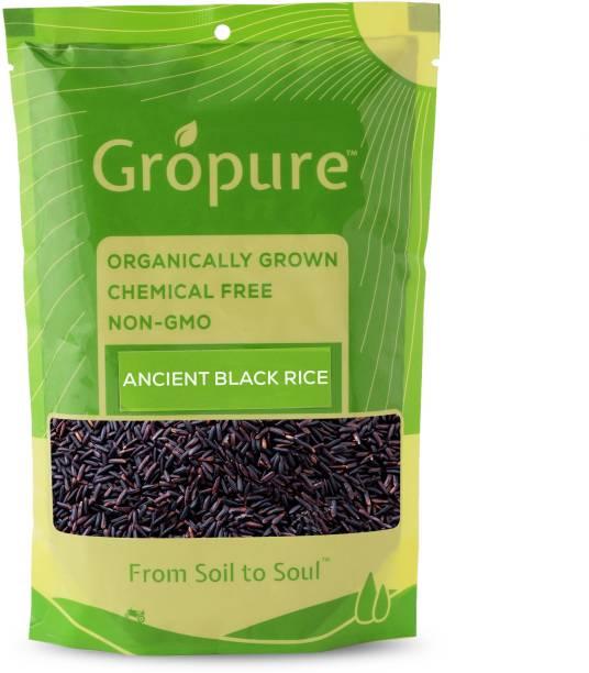 Gropure Organic Black Rice Black Forbidden Rice