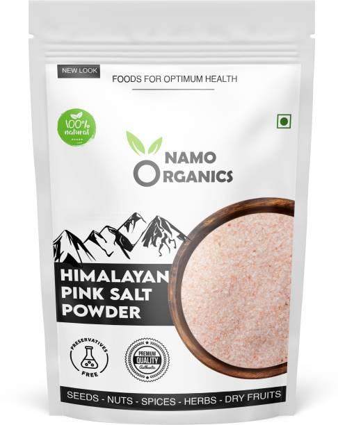 Namo organics 1KG - Himalayan pink Rock salt powder for weight loss & Healthy Cooking with 80+ Minerals Himalayan Pink Salt