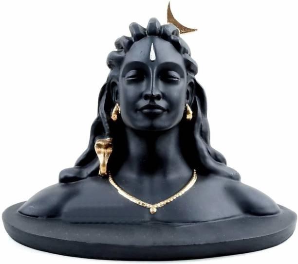 Flipkart SmartBuy Lord Shiva Adiyogi For Car Dashboard, Pooja & Gift Idol for Home & Office Decor Decorative Showpiece  -  11 cm