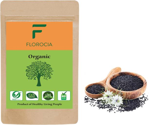 Florocia Organic Nigella Seeds | Kalonji - 500 gm | Black Cumin | Kalongi | Fresh Grocery Items