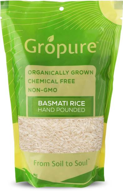 Gropure Organic Basmati Rice (Handmade) Basmati Rice