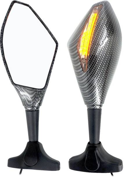 Otoroys Manual Remote Rear View Mirror For Yamaha, KTM, Bajaj, Honda, Suzuki Universal For Bike