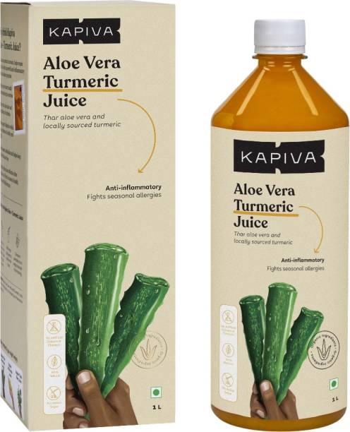 Kapiva Aloe Vera + Turmeric Juice Anti-inflammatory - No Added Sugar