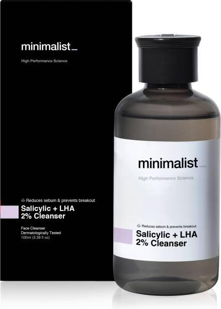 Minimalist 2% Salicylic Acid Face wash For Oily Skin - Oil Control & Anti Acne  For Men & Women Face Wash