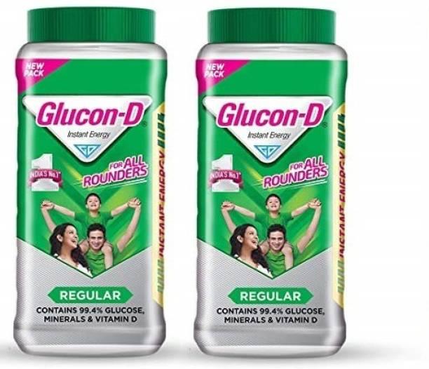 GLUCON-D Instant Energy 1 Kg Jar pack Of 2 Energy Drink