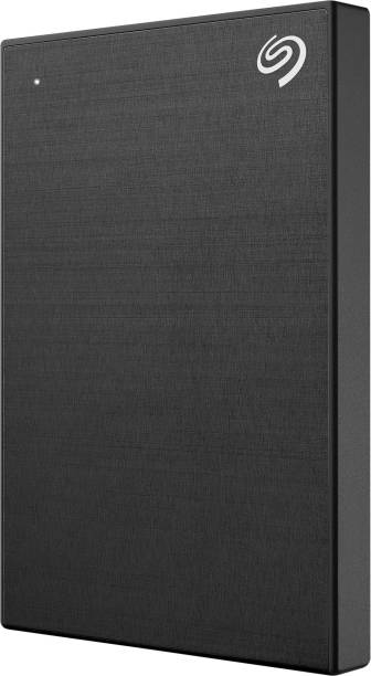 Seagate One Touch with Password Protection for Windows & Mac with 3 years Data Recovery Services - Portable 1 TB External Hard Disk Drive