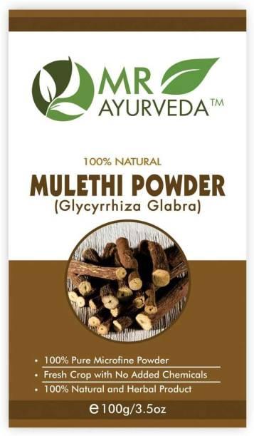 MR Ayurveda Organic Licorice Powder ( Mulethi Powder )