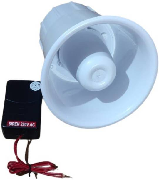 MME 220v industrial siren police tone sound range 1km for emergency alarm for school, hospitals,farm house etc Fire Alarm