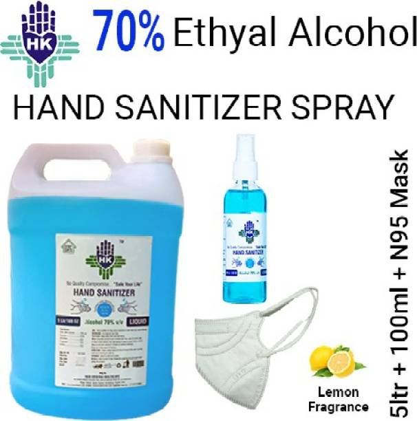 Hari Krishna Healthcare  5ltr Hand Sanitizer Can