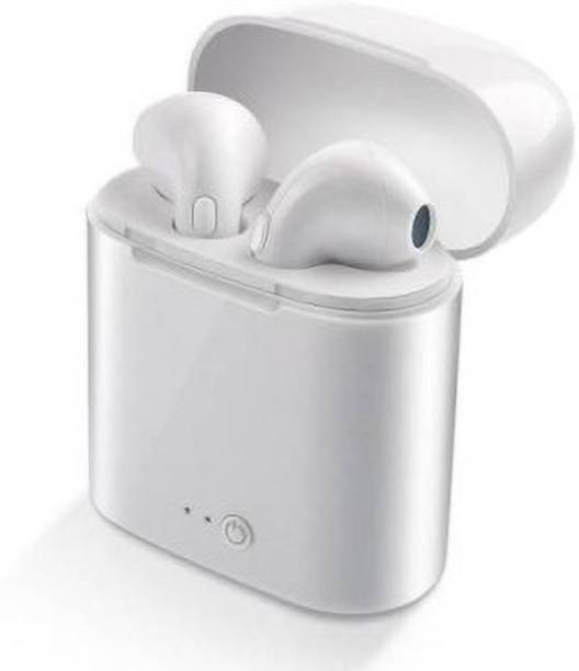 GadgetX Dual True Twins With Mic Charging Box (In the Ear) Bluetooth Headset
