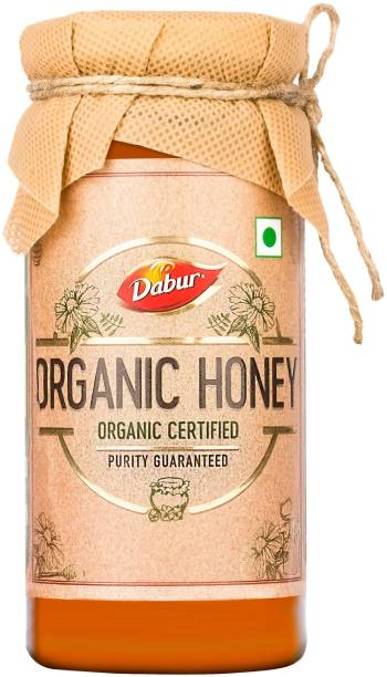 Dabur Organic Honey : NPOP Certified | 100% Pure and Natural with No Sugar Adulteration
