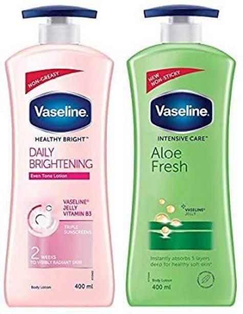 Vaseline Intensive Aloe Fresh & Healthy Daily Brightening
