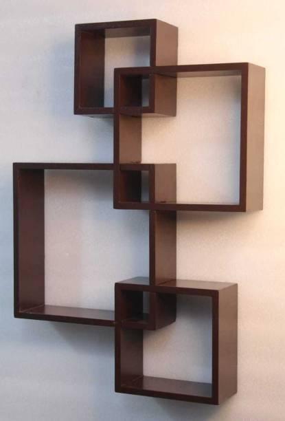 Yasar Handicrafts Wooden Wall Shelf