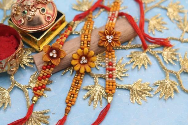 GW Creations Rakhi, Chawal Roli Pack  Set