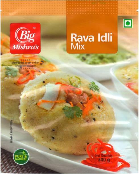 Big Mishra's Rava Idli Mix 200 g