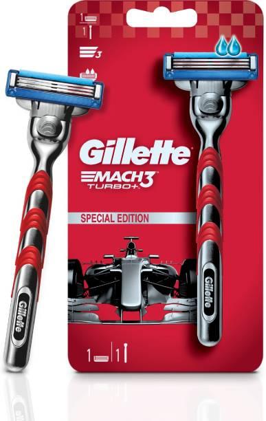 GILLETTE Mach3 Turbo Men's Shaving Razor (1 pc)