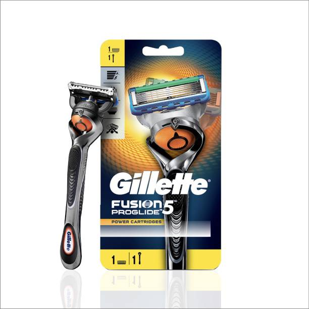 GILLETTE Proglide Men's Grooming Razor with Flexball Technology - Adapts to Facial Contours (1 pc)
