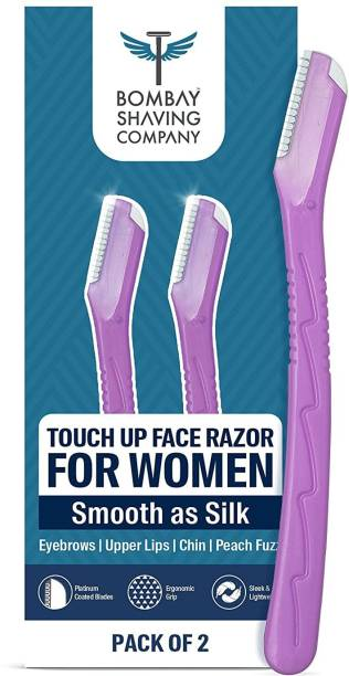BOMBAY SHAVING COMPANY Eyebrow and Face Razor For Women | Touch Up Quick Hair Removal