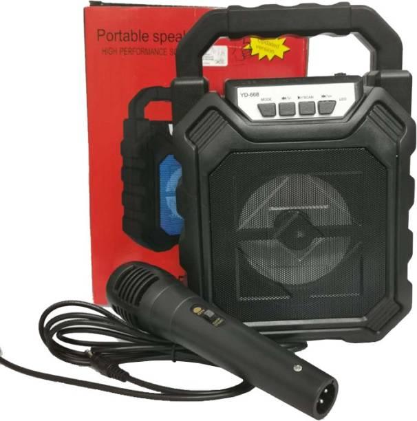 IMMUTABLE YD668 BT SPEAKER WITH MIC 15 W Bluetooth PA Speaker